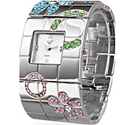 Silver Fashion Steel Bangle Women's Watch Cool Watches Unique Watches