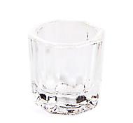 кристалл dappen блюдо ногтей acrylice жидкости powde