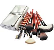 Недорогие -18 штук серебро сумки кисти
