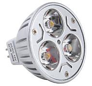gu5.3 (mr16) привело прожектор mr16 3 высокой мощности привели 270lm теплый белый 3000k dc 12v