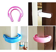 Security Door Card Baby Child Safety Door Stopper Gate Clip