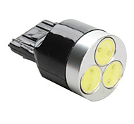 T20 3W SMD LED White Light Bulb for Car (DC 12V) High Quality