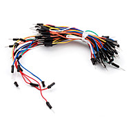 Electronics DIY Solder-less Flexible Breadboard Jumper Cable Wires 65Pcs