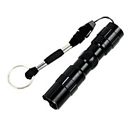 LED Flashlights / Torch LED 50 lm 1 Mode - Waterproof Super Light Compact Size Small Size Easy Carrying Camping/Hiking/Caving