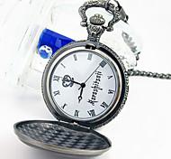 Часы Вдохновлен Тёмный дворецкий Ciel Phantomhive Аниме Косплэй аксессуары Часы Серебро Сплав Мужской