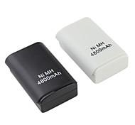 abordables -Baterías 4800mAh Ni-MH Recargable para Xbox 360 (Varios Colores)