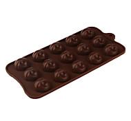 baratos -lingote de ouro de silicone molde sugarcraft em forma de doces / cookie / geléia / chocolate