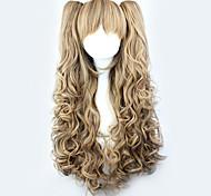 Lolita Wigs Sweet Lolita Yellow Lolita Lolita Wig 70 CM Cosplay Wigs Solid Wig For
