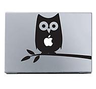 """Недорогие -Сова шаблон защиты кожи наклейки для 11 """"13"""" 15 """"MacBook Air Pro"""