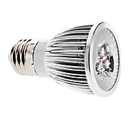 e26 / e27 светодиодный прожектор mr16 3 cob 600lm теплый белый 3000k диммируемый ac 220-240v