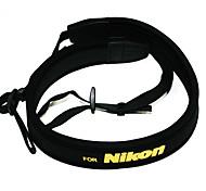 Neoprene Camera Neck Strap For Nikon D5000 D5100 D90 D80 D70 D3100 D700 D7000
