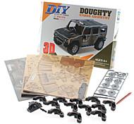 57 Pièces DIY 3D Puzzle Doughty SUV (difficulté 4 sur 5)