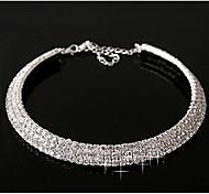 Недорогие -На каждый день Камни по месяцу рождения Слоистые ожерелья Сплав Слоистые ожерелья ,
