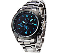 cheap -Men's Business Style Silver Alloy Quartz Wrist Watch (Assorted Colors) Cool Watch Unique Watch Fashion Watch