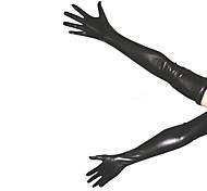 Недорогие -Перчатки Ниндзя Костюмы зентай Косплэй костюмы Черный Однотонный Перчатки Спандекс Универсальные Хэллоуин Рождество