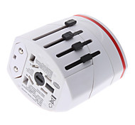 cheap -World Travel Adapter with 2 USB Charger High quality, durable