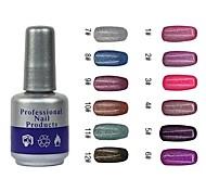 Nail Polish UV Gel  10 1 Glitters UV Color Gel UV Builder Gel Soak off Long Lasting
