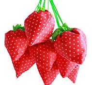 Erdbeer-Design Textil-Einkaufstasche (gelegentliche Farbe)