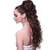 High Quality Synthetic Wavy Brown Moderm Ponytail