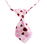 cheap -Cat Dog Tie/Bow Tie Dog Clothes Pink Nylon Costume For Pets Wedding