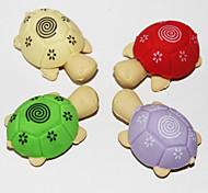 Недорогие -съемные черепаха в форме Ластик (2шт Random Color)