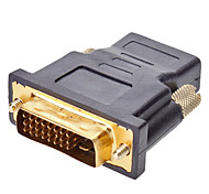 DVI 24+1 to HDMI M/F Adapter for HDMI V1.3/V1.4