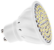 cheap -3W 250-350 lm GU10 LED Spotlight MR16 60 leds SMD 3528 Warm White Cold White AC 110-130V AC 220-240V