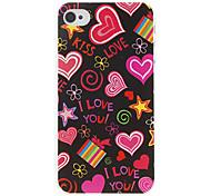 Недорогие -любовь шаблон жесткий футляр для Iphone 7 7 плюс 6с 6 плюс 5 секунд как таковые 5с 5 4s 4