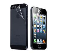 preiswerte -Displayschutzfolie Apple für iPhone 6s Plus iPhone 6 Plus iPhone SE/5s Vorderer & hinterer Bildschirmschutz High Definition (HD)