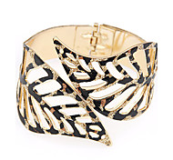 cheap -European Style Hollow Leaves Exaggerated Fashion Bangles Christmas Gifts
