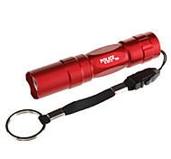 LED Flashlights / Torch Handheld Flashlights/Torch LED 100 lm 1 Mode Tactical for Everyday Use Batteries not included Black Brown Red Blue