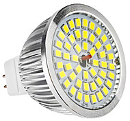 6W GU5.3(MR16) LED Spotlight MR16 48 SMD 2835 500-600lm Natural White 6500K DC 12 AC 12V