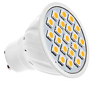 1.5W GU10 LED Spotlight MR16 20 SMD 5050 190lm Warm White 3000K AC 220-240V
