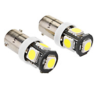 Car White 2.5W SMD LED 6000-6500 License Plate Light Turn Signal Light Reversing lamp