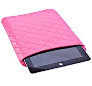 Gird Pattern PU Leather Textile Bag for iPad 3/4