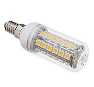Недорогие -5W E14 LED лампы типа Корн T 48 SMD 5050 350-380 lm Тёплый белый 3000 К V