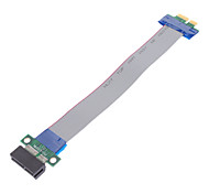cheap -36 Pin Ribbon PCI Express (PCI-E) Extension Cable for Desktop PC