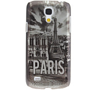 cheap -For Samsung Galaxy Case Pattern Case Back Cover Case Eiffel Tower PC Samsung S4