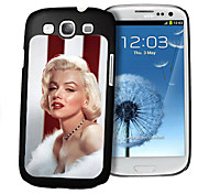 cheap -Woman Pattern 3D Effect Case for Samsung S3 I9300 Galaxy S Series Cases / Covers