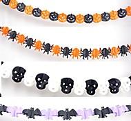 Хэллоуин гирлянду реквизит для баров бумажные украшения (3 метра 4 шт)