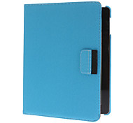 360 Degree Rotatable Solid Color Demin Leather Full Body Case with Stand for iPad 2/3/4 (Assorted Colors)