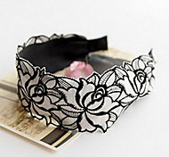 cheap -Z&X®  No Tooth Lace Embroidery Flower Cloth Band Broadside