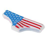 Engraçado Projetado Bandeira Padrão Triângulo Pants Forma Home Botão do caso americano para iPhone 4/4S/5/5S e Outros