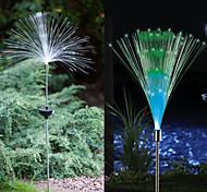 Недорогие -1-светодиодный красочный свет светодиодный солнечный свет оптоволоконный фонтан фонтан