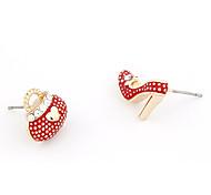 cheap -Women's Stud Earrings - White Red Green Earrings For Daily