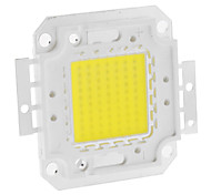 cheap -DIY 70W 5550-5600LM 2100mA 6000-6500K Cool White Light Integrated LED Module (30-36V)