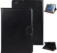 abordables -angibabe cheval fou reposer cas de couverture pour Mini iPad 3, iPad Mini 2, iPad Mini w / fente pour carte et veille automatique / réveil