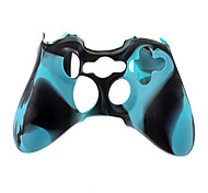 cheap -Wireless Controller Silicone Case for Xbox360(Blue)