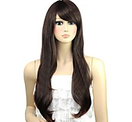 женщина волнистых прекрасный длинная сторона взрыва синтетические парики из жаропрочного волокна дешевы косплей парик партии волос