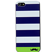 cheap -Case For Apple iPhone 5 Case iPhone 6 iPhone 6 Plus iPhone 7 Plus iPhone 7 Pattern Back Cover Lines / Waves Hard PC for iPhone 7 Plus